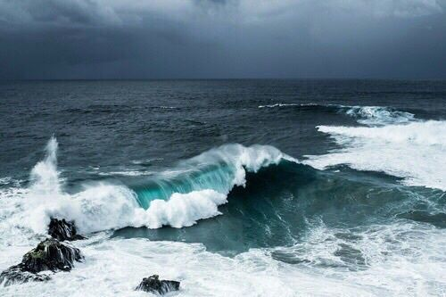 Imagen de ocean, sea, and blue