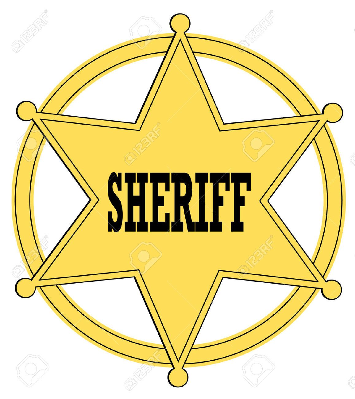 Sheriff Badge Stock Photos Pictures Royalty Free Sheriff Badge
