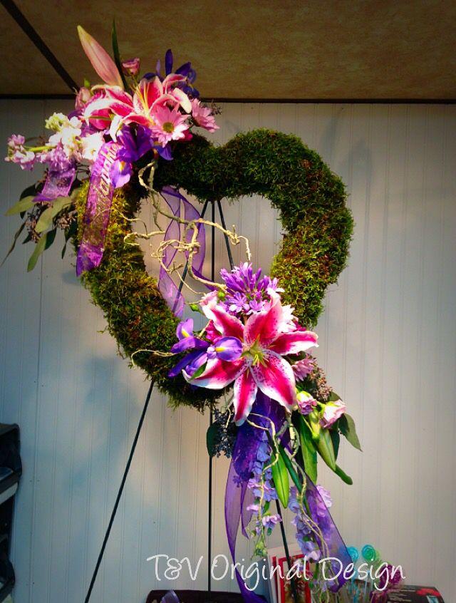 River Cane Cross Flowers