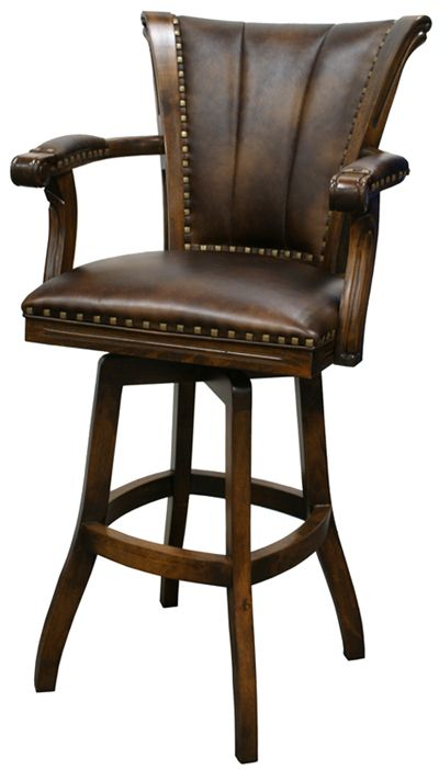 Bar Stools With Backs Leather