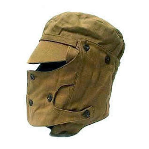 Ganwear/® Genuine USSR Soviet Army Military Afghanistan War Combat Cap Hat Mask Syriyka With Face Protection Cover
