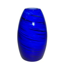 Portfolio 7 34 in h x 4 58 in w blue glass mix and match mini portfolio h w sapphire fury art glass pendant light shade at lowes add a dramatic pop of color to your home with this sapphire fury mini pendant shade aloadofball Images