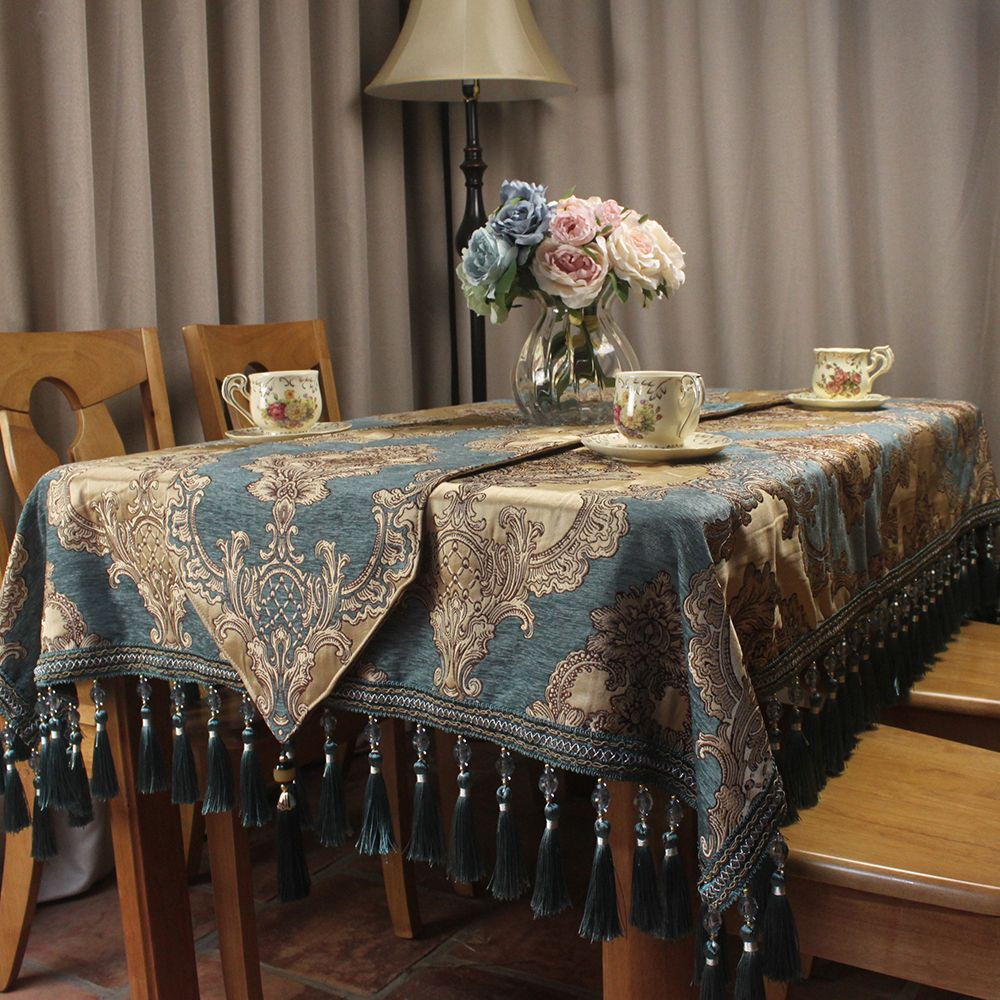 20 Cozy Dining Room Tablecloth 2019 In 2020 Dining Room Tablecloth Blue Dining Room Furniture Formal Dining Tables