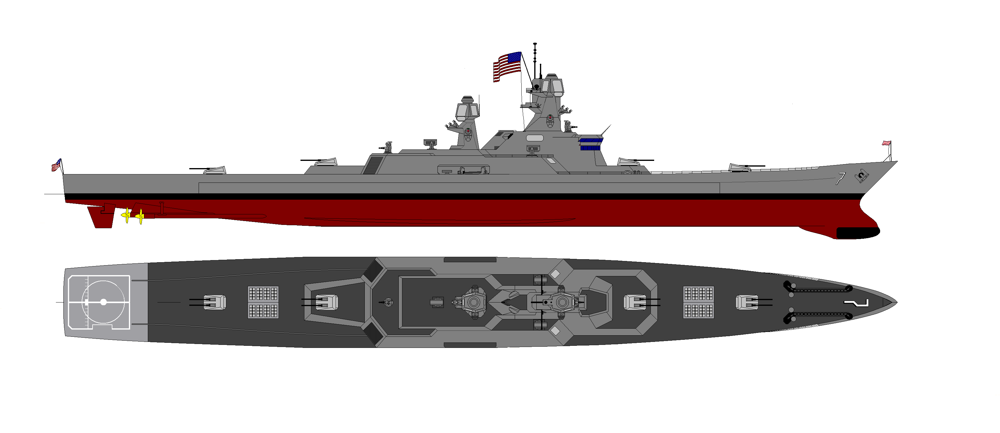 Battlecruiser Thread Is the battlecruiser conceptModern Battleship Design