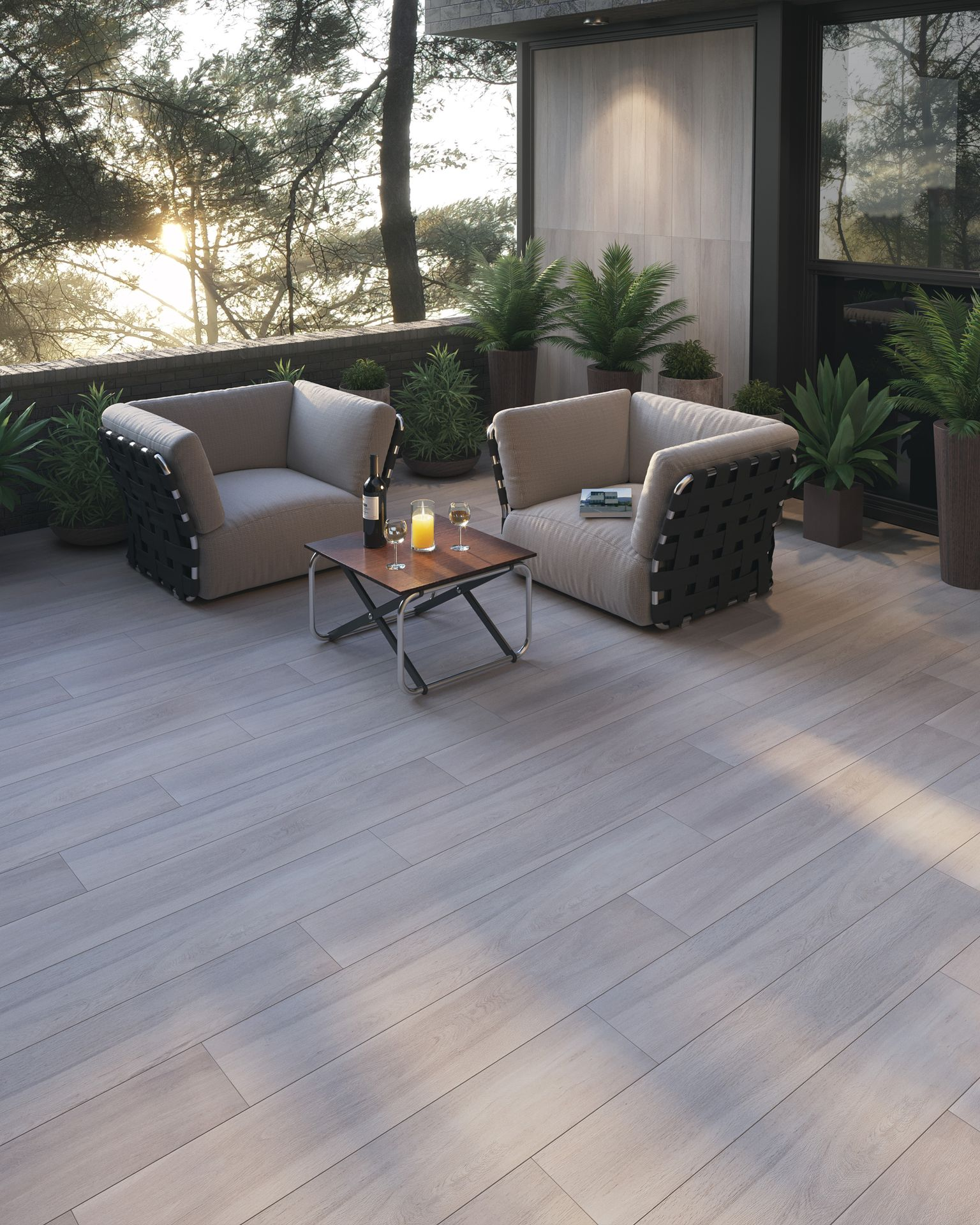 Guayacan Beige 8 x 48 Porcelain Wood Look Tile in 2020