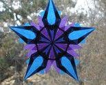 folded paper window stars