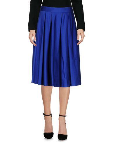 P.A.R.O.S.H. Women's Knee length skirt Bright blue S INT