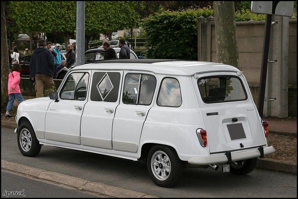 renault 4l limousine google fun cars en france pinterest renault voiture et voiture. Black Bedroom Furniture Sets. Home Design Ideas
