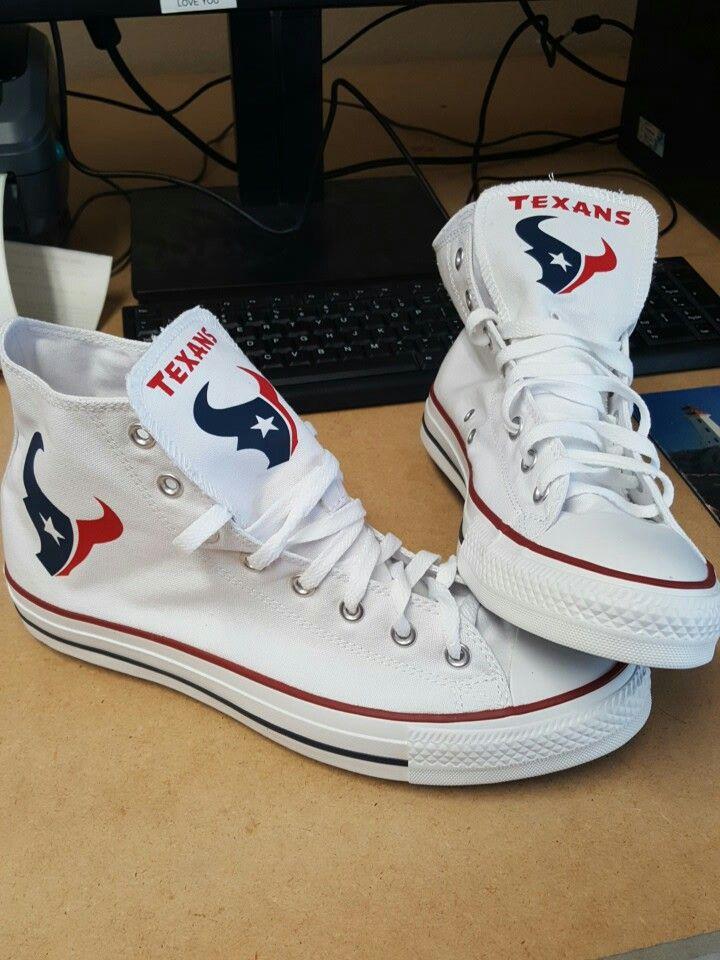 Houston Texans Converse Highs www.shoes4fans.com  51afe825bc