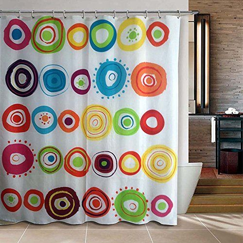 Riverbyland Shower Curtain Doodle Circles 72 X 80 River Https