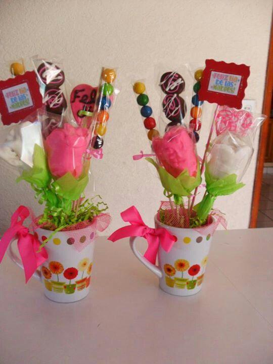 Pin by nancy ortega on arreglos de dulces pinterest - Decoracion de tazas ...
