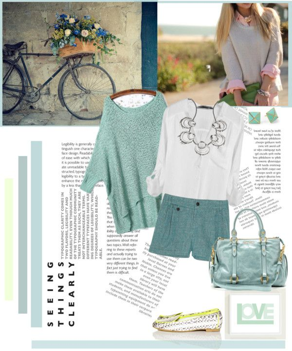 """Light Mint"" by ellie366 ❤ liked on Polyvore"