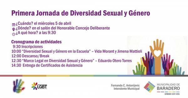 Primera Jornada de Diversidad Sexual y Género