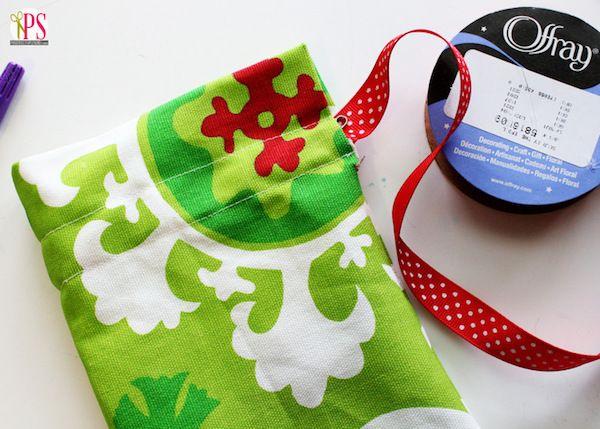 Manualidades Con Tela Envolver Regalos De Navidad Fabric Gift Bags Fabric Gifts Gift Bags