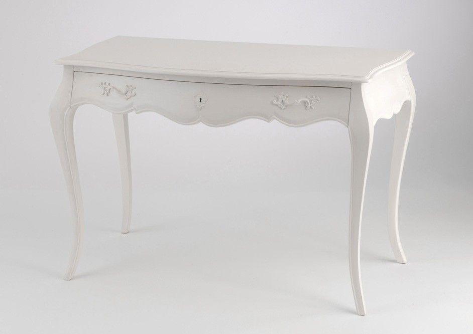 Bureau blanc murano amadeus meubles de sal