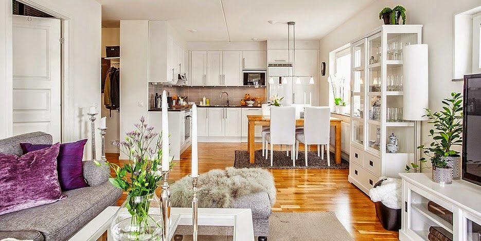 Ideas deco cocinas integradas en el sal n comedor rooms for Cocina americana y salon