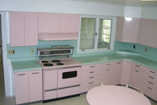 This Entire Kitchen Was Up For Sale All Steel Ge Cabinets Stove