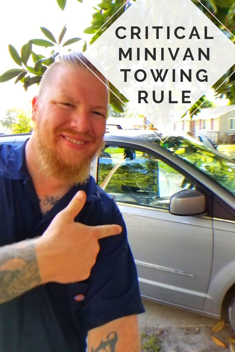 critical minivan towing rule mini van town and country chrysler town and country pinterest