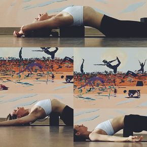 yin yoga  meridians  block down the spine  yin yoga