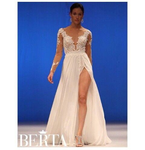 Wedding Dress by Berta | Dresses, Formal dresses, Prom dresses
