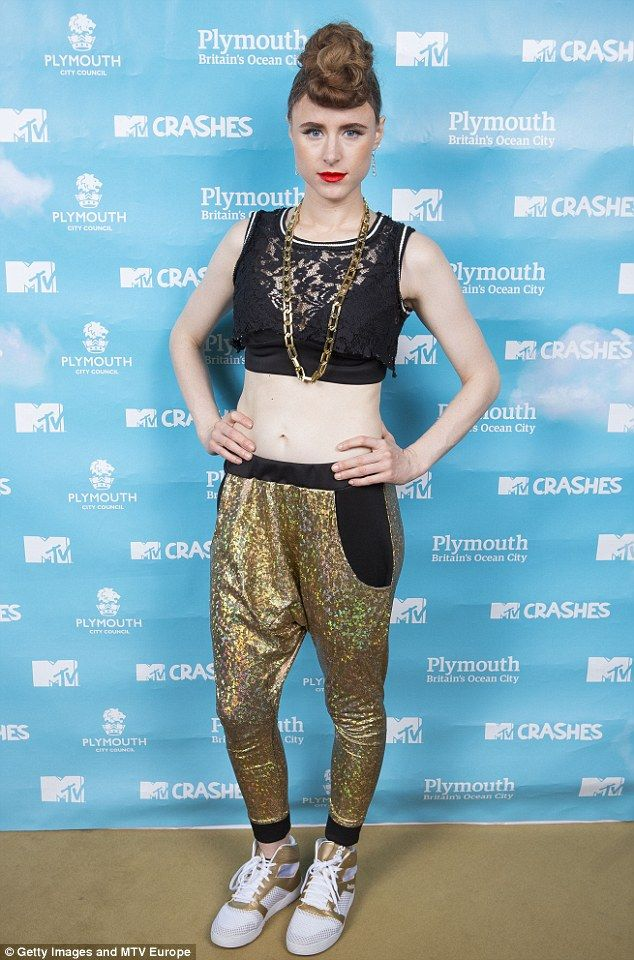 I Dream of Kiesza: Looking liker a genie out of a bottle, the pop star was all fired-up for her performance