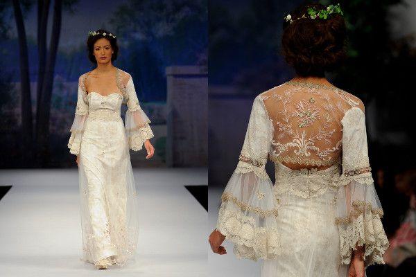 Claire Pettibone - 2012 Beau Monde Bridal Collection via French Wedding Style #weddingdress