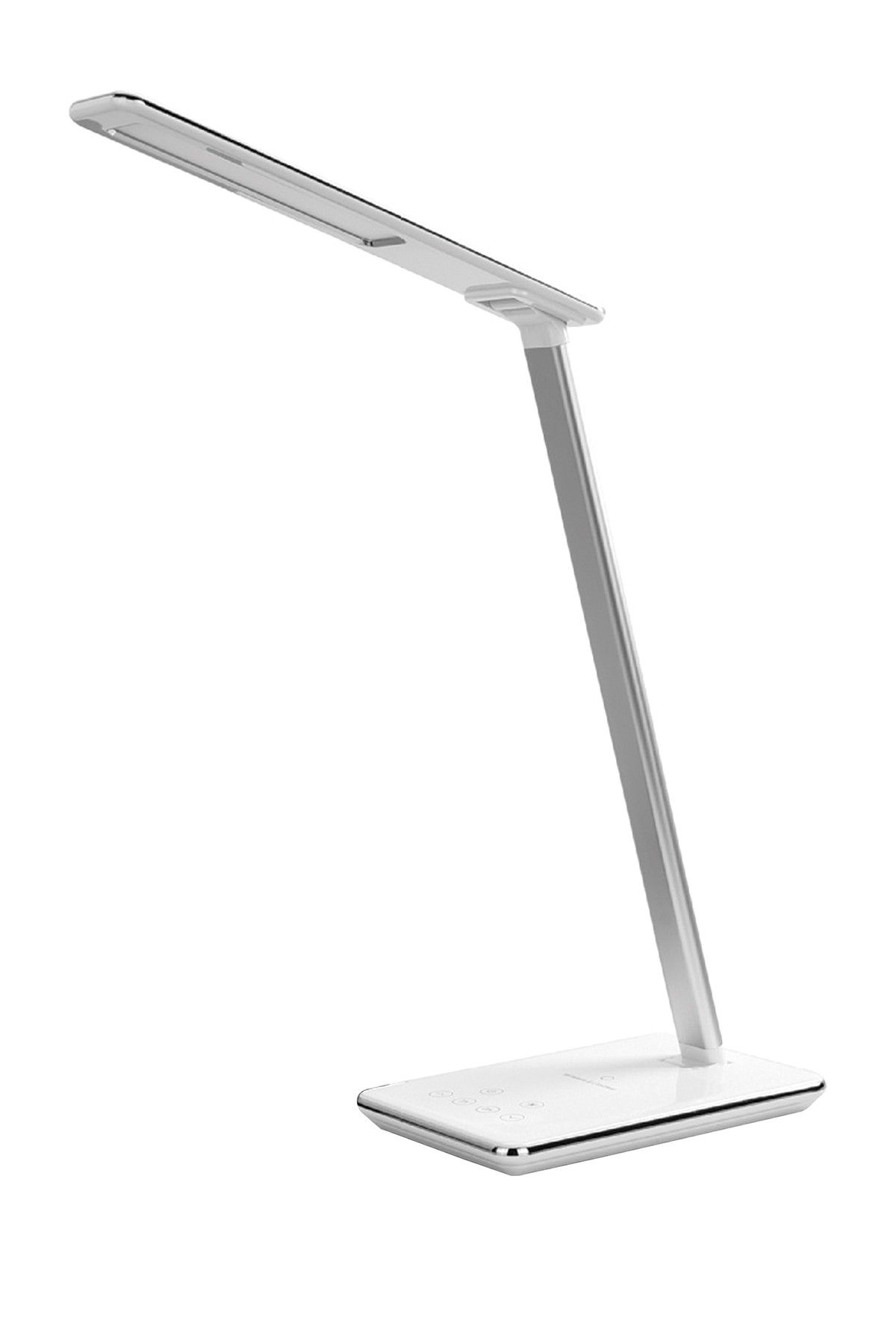 Supersonic Led Desk Lamp With Qi Wireless Charger White Desk Lamp Lamp Led Desk Lamp