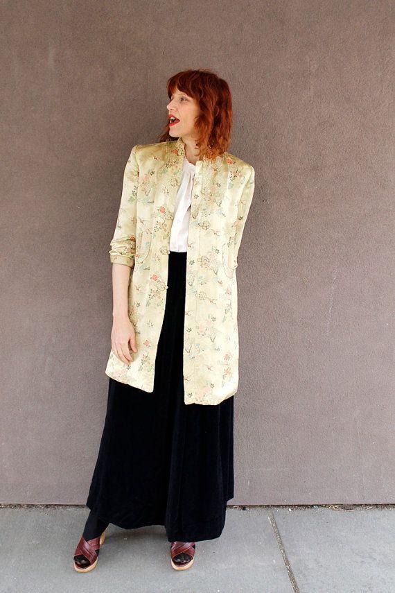 Vintage Silk BOHO CHINESE JACKET