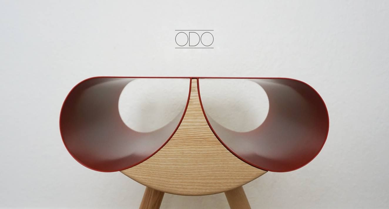 # ODO is a pedestal table inspired by the dragonfly by Nicolas Abdelkader - see more on blog