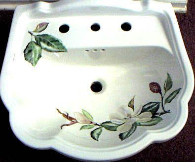 Painted Sink