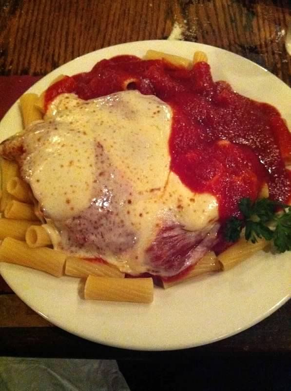 Possibly The Best Chicken Parmesan On The Planet Vincents Clam Bar