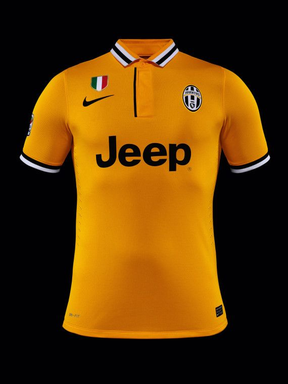 best authentic 15fb7 c39ac Nike Soccer - Italian Champions Juventus Unveils Yellow ...