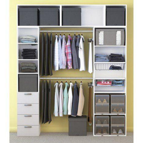 dressing spaceo home blanc chambre pinterest chambres id es pour la maison et pour la maison. Black Bedroom Furniture Sets. Home Design Ideas