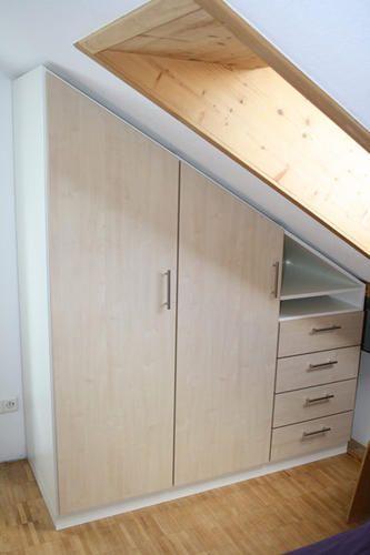 Kasten Op Maat Zolder Kasten Schuine Wand In 2019 Kast