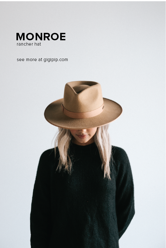 c59c3450e8d How wear a hat by Gigi Pip: our MONROE in Brown is the most popular hat of  2019