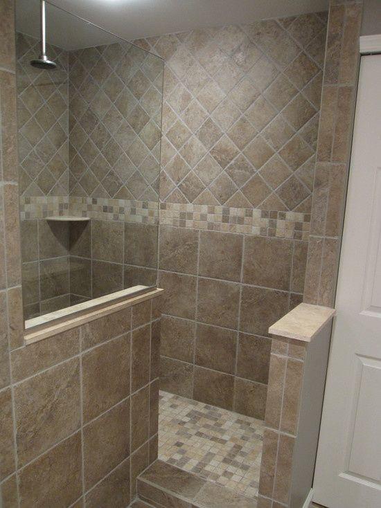 Prepossessing Doorless Shower Design Inspiritoo Doorless Walk In
