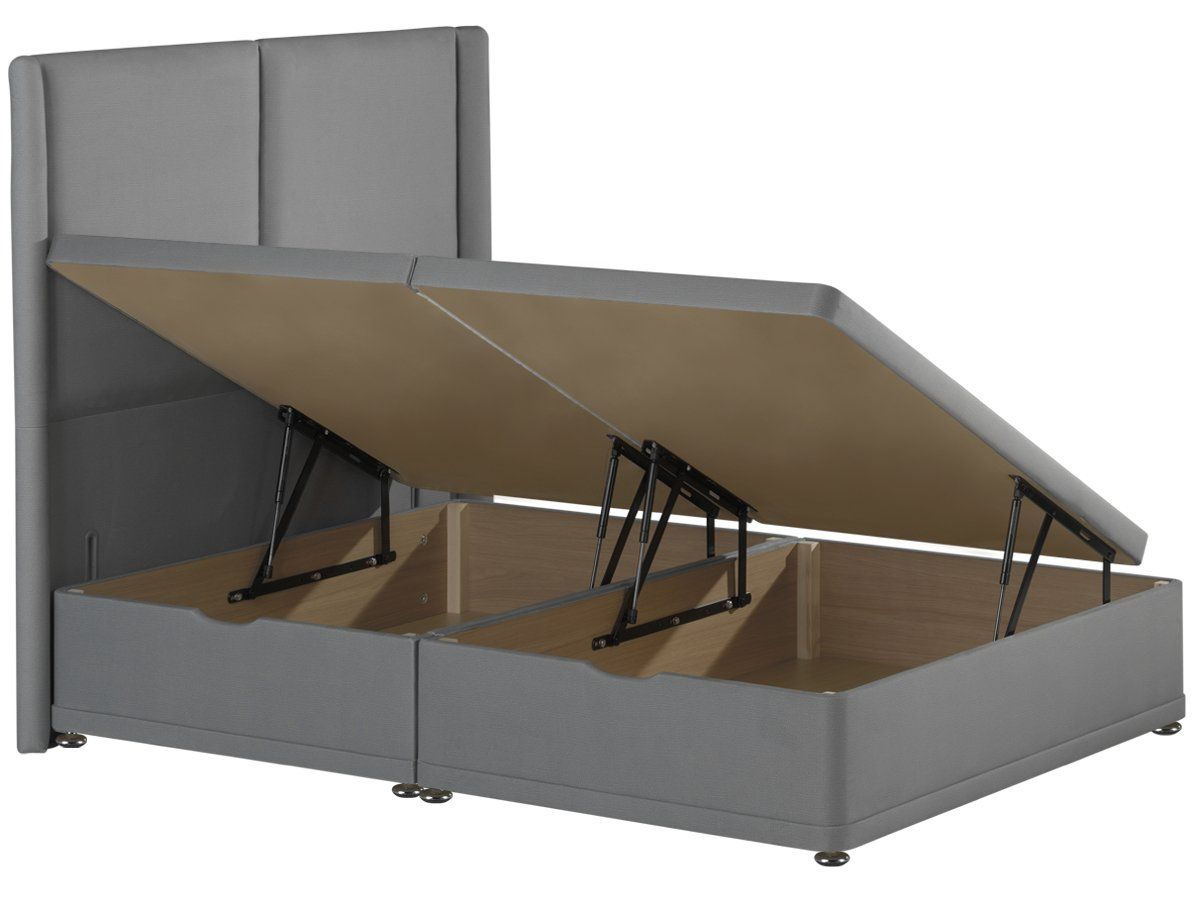 Ottoman Storage Bed Base Available In Single Double And King Size Timber Beds Bed Base Ottoman Storage Bed