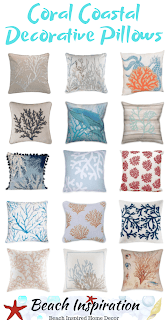 50 Coastal Style Decorative Throw Pillows