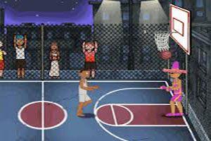 Copa Mundial Baloncesto - Demuestra tu habildiad y anota muchos puntos al equipo contrario en este campeonato de básquet profesional. Salta para interceptar el balón y lanzarlo a la canasta.