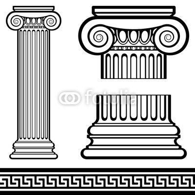 6th Grade Greek Columns | History Greek & Roman | Pinterest ...