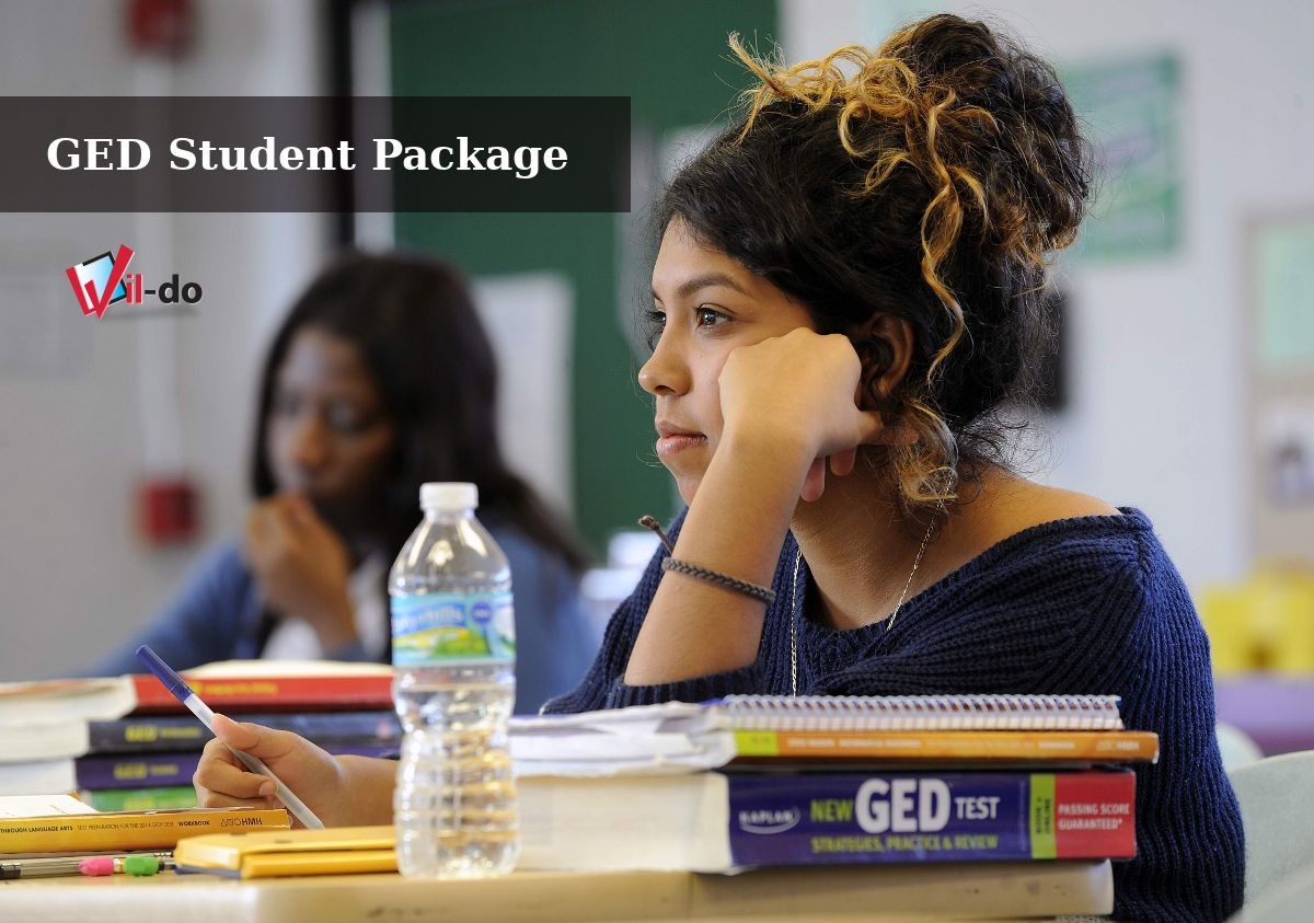 Ged test prep packages and learning packages in education