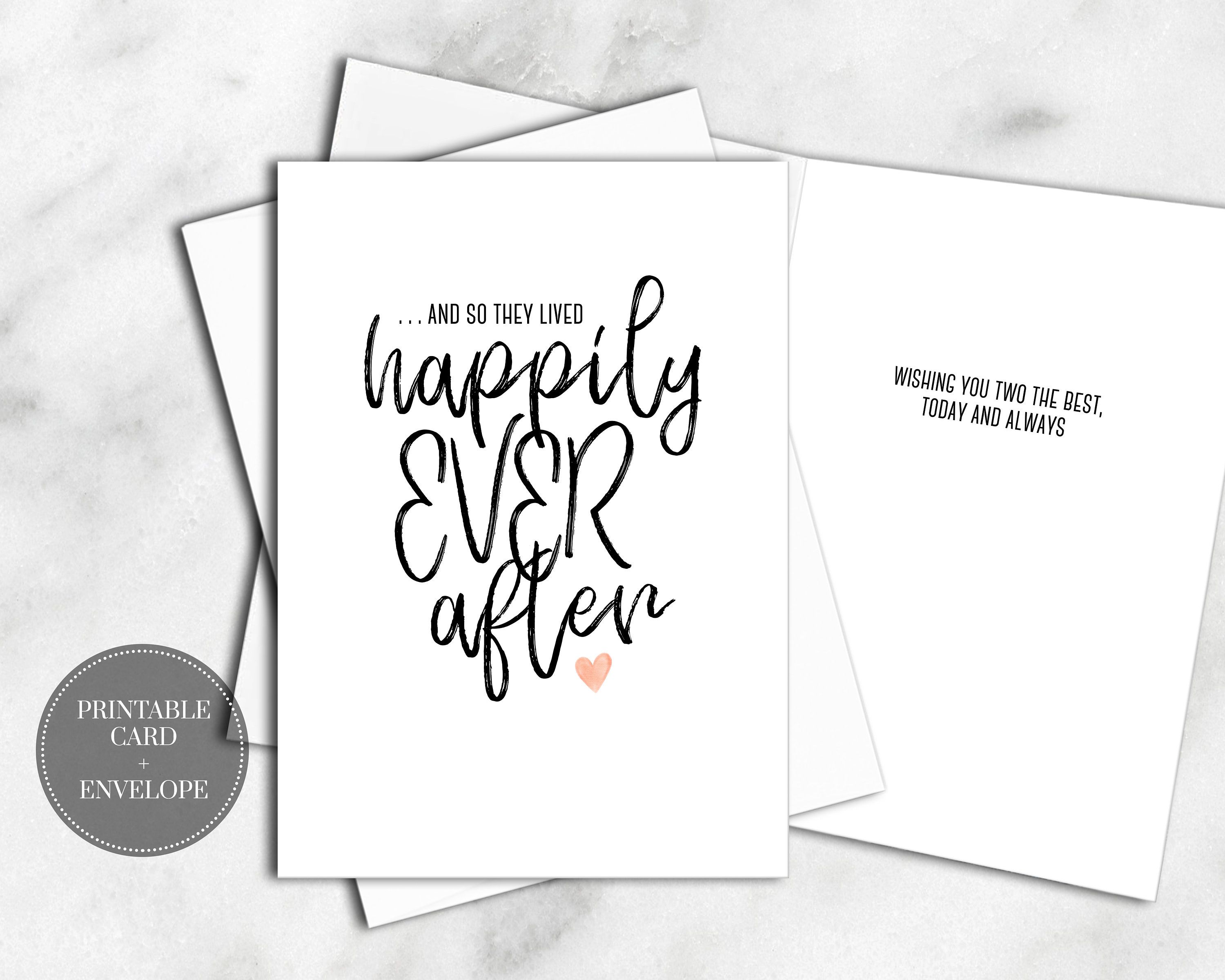 Printable Wedding Card Digital Download Wedding Gift Bridal Shower Gift For Bride Engagement Cards Wedding Cards Wedding Congratulations Card Wedding Card Diy