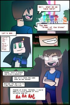 Minecraft Story Mode Power Part 0 By Prettyxthexartist