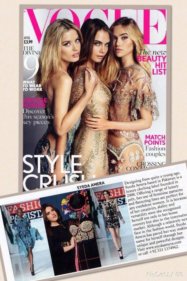 British#vogue#magazine#first#pakistan#