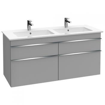 Villeroy \ Boch Venticello Doppel-Waschtischunterschrank XXL mit 4 - villeroy und boch badezimmermöbel