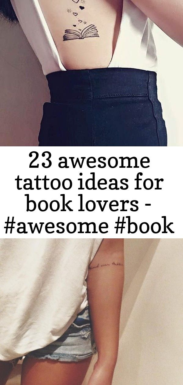 23 awesome tattoo ideas for book lovers – #awesome #book #ideas #lovers #tattoo, #awesome #b…