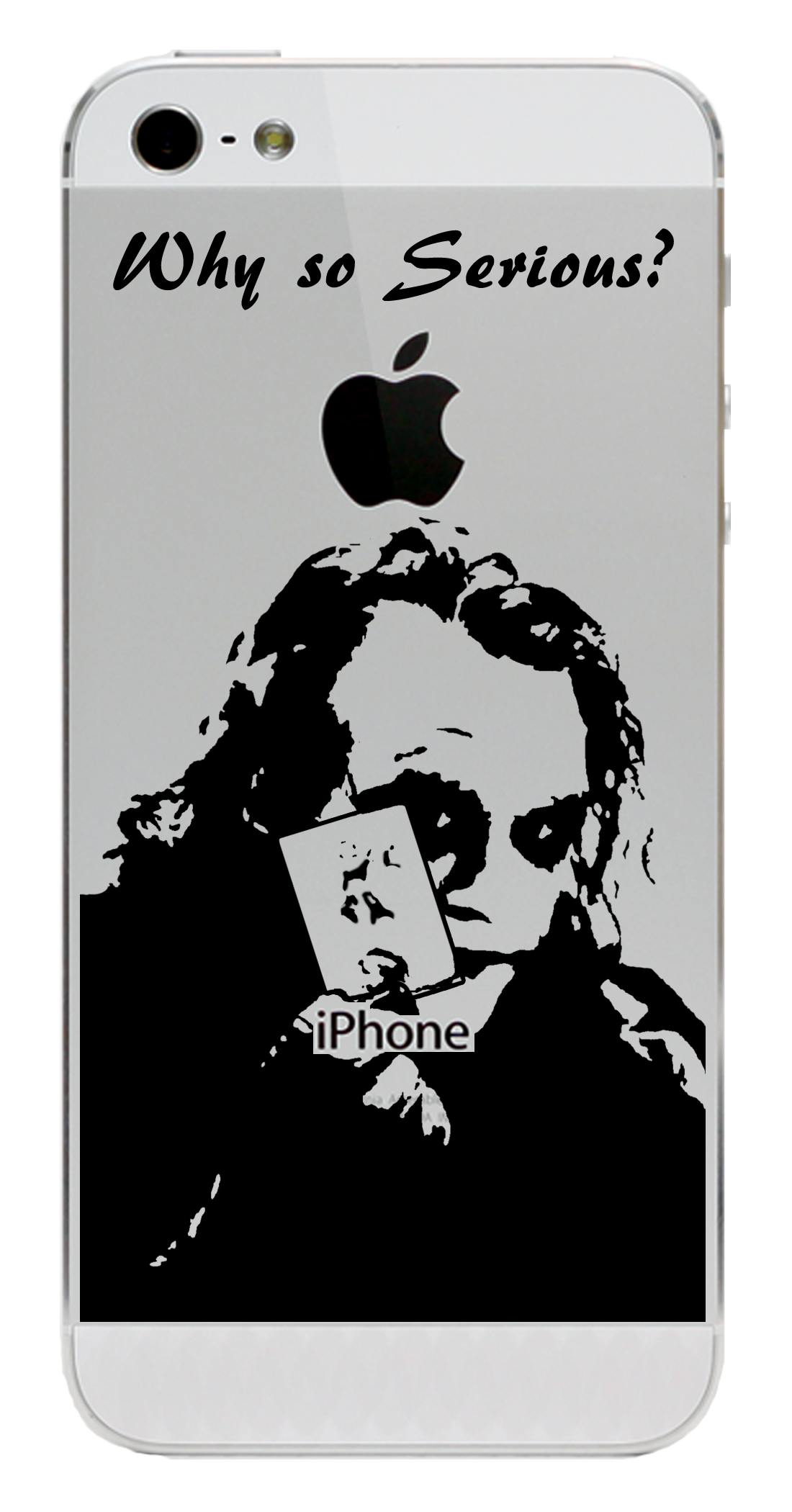 Joker why so serious little sticker get it before it goes on back order