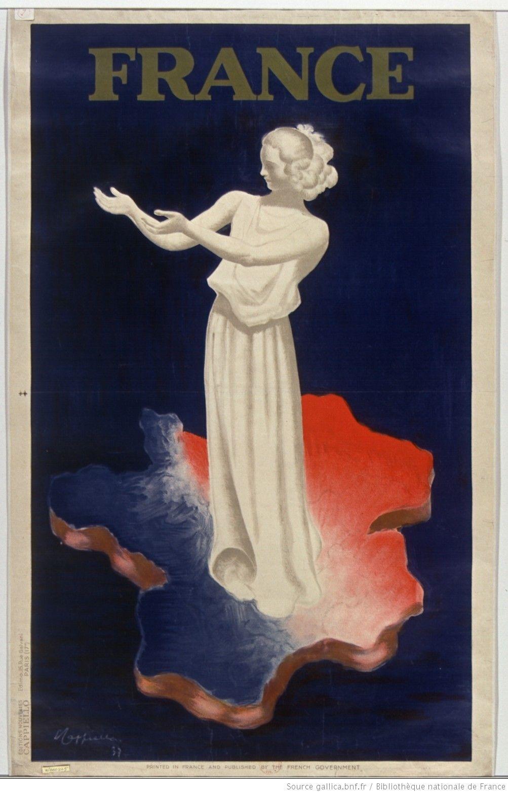 France [affiche] [Exposition internationale de 1937