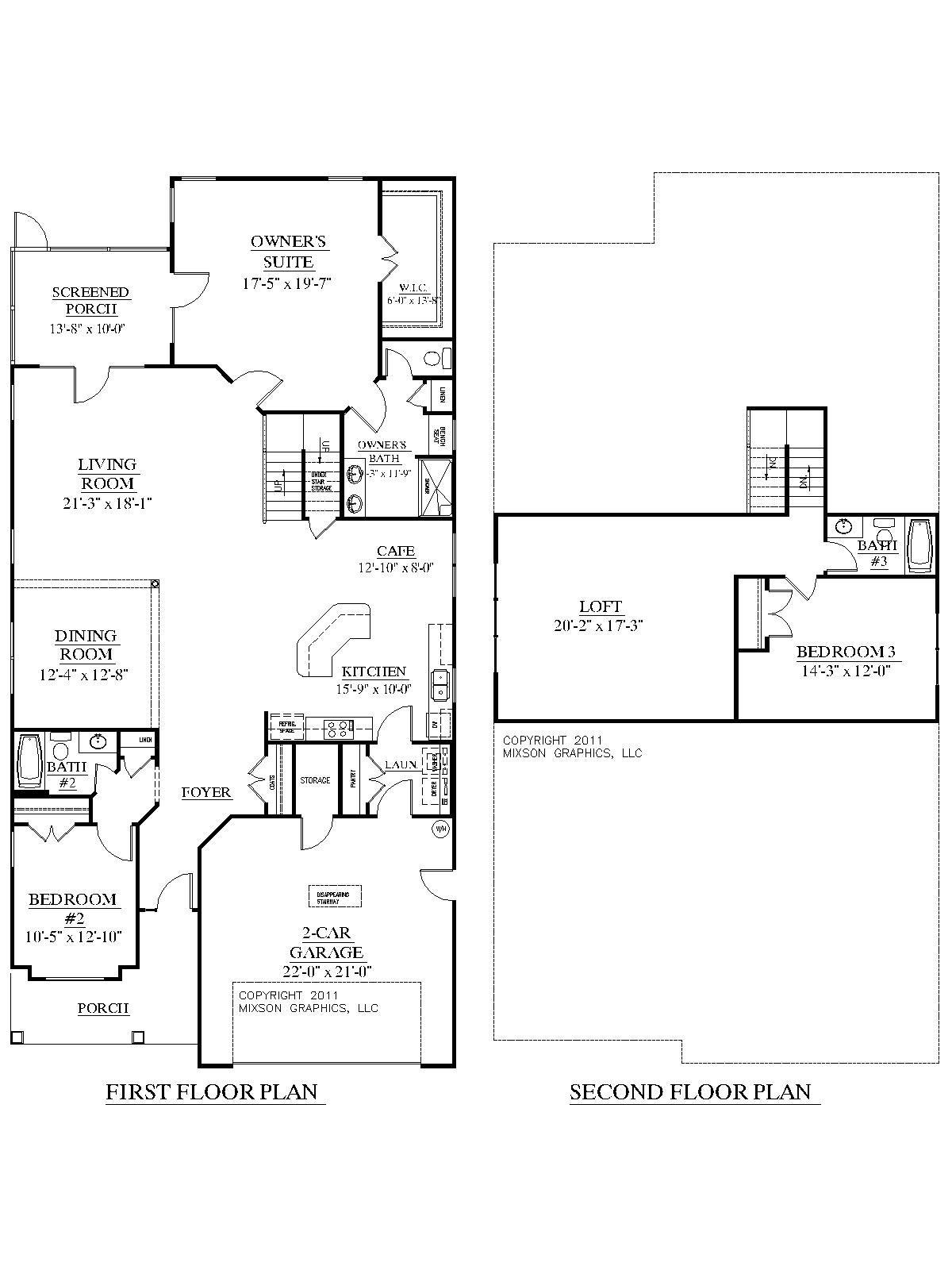 House Plan Woodbridge Floor Plan