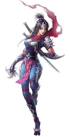 Fantasy Ninja Girl With Dragon Google Search Female Ninja Character Art Ninja Art